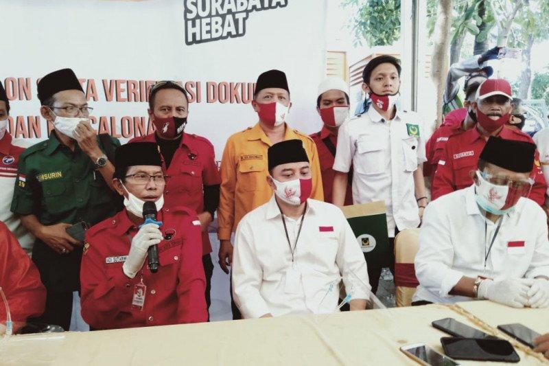 PDIP Surabaya targetkan paslon Eri-Armuji menang di 31 kecamatan