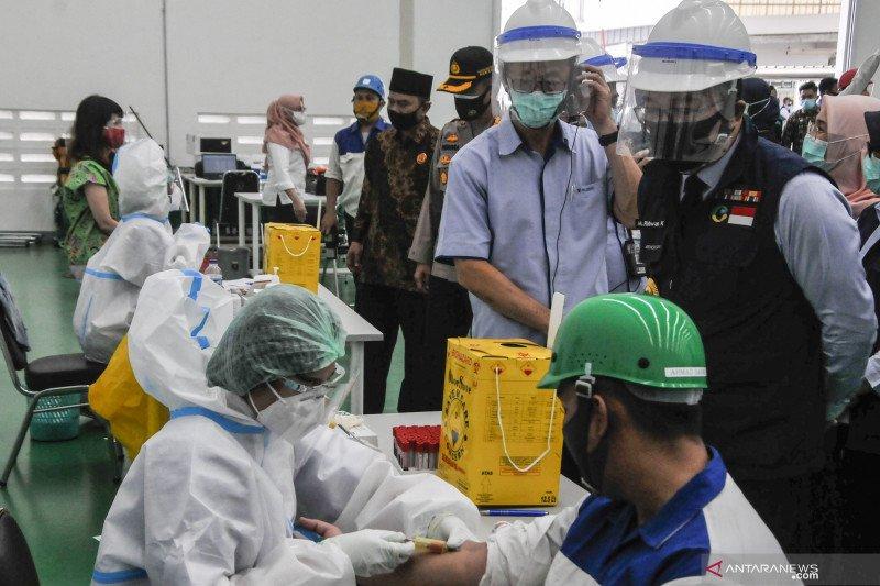 Kasus COVID-19 di Indonesia bertambah 3.128 menjadi 190.665