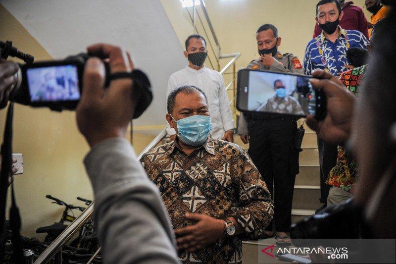 Wali Kota Bandung Oded M Danial diperiksa KPK