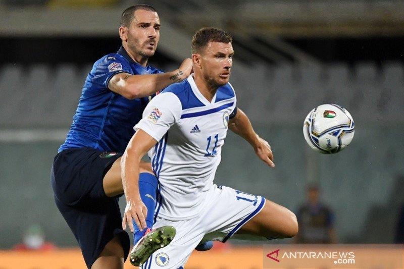 Italia bermain imbang 1-1 lawan Bosnia-Herzegovina