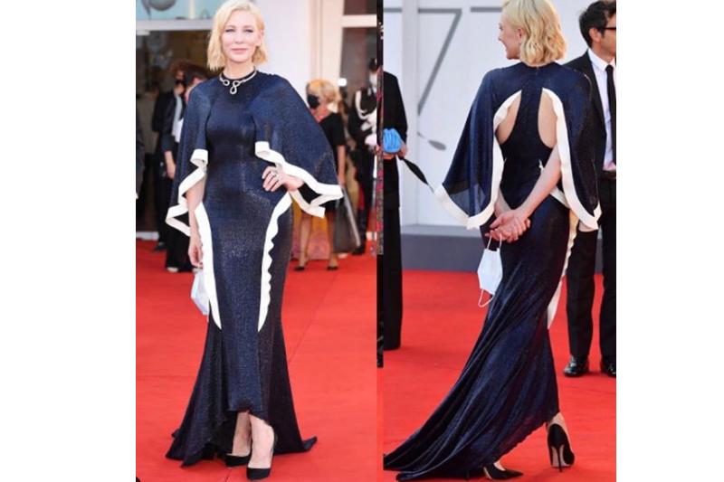 Cate Blanchett kenakan gaun lama di Venice Film Festival 2020