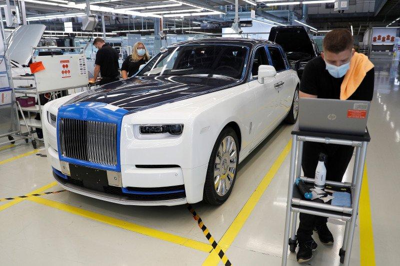 Rolls-Royce: Asia dorong pemulihan pasar mobil mewah