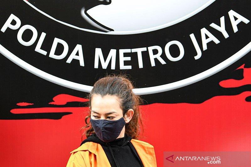 Reza Artamevia resmi ditahan di Rutan Narkoba Polda Metro Jaya