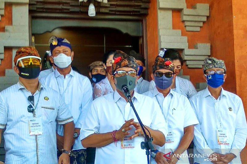 Paket Amertha jadi pendaftar kedua Pilkada Kota Denpasar