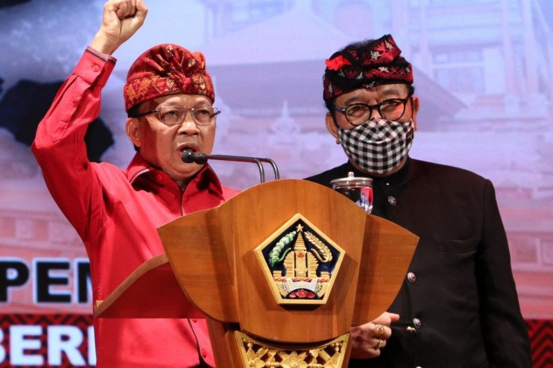 Gubernur Bali minta dukungan NU untuk kendalikan COVID-19