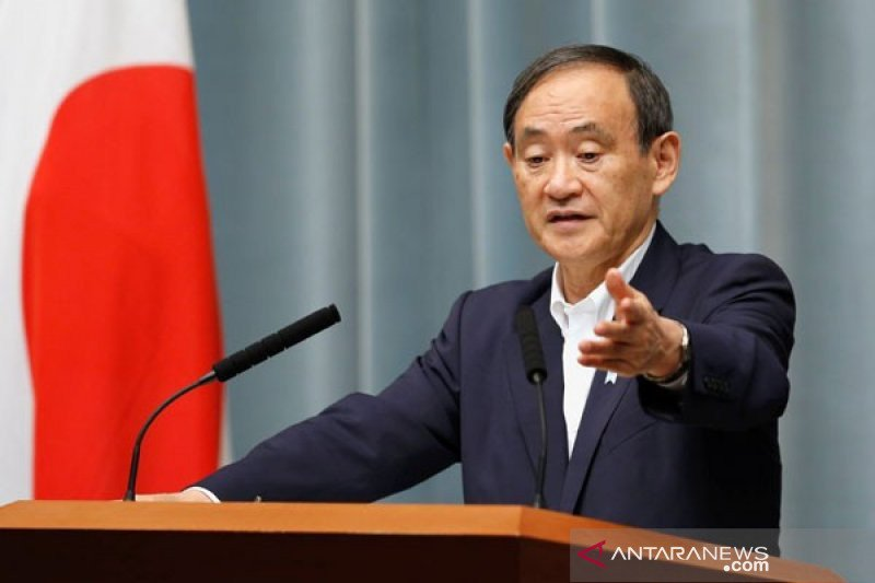 Suga mungkin akan minta pemilu Jepang dipercepat