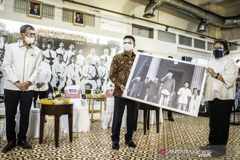 Moeldoko buka pameran foto LKBN ANTARA