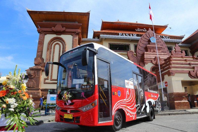 Layanan angkutan perkotaan BTS Kemenhub resmi hadir di Bali