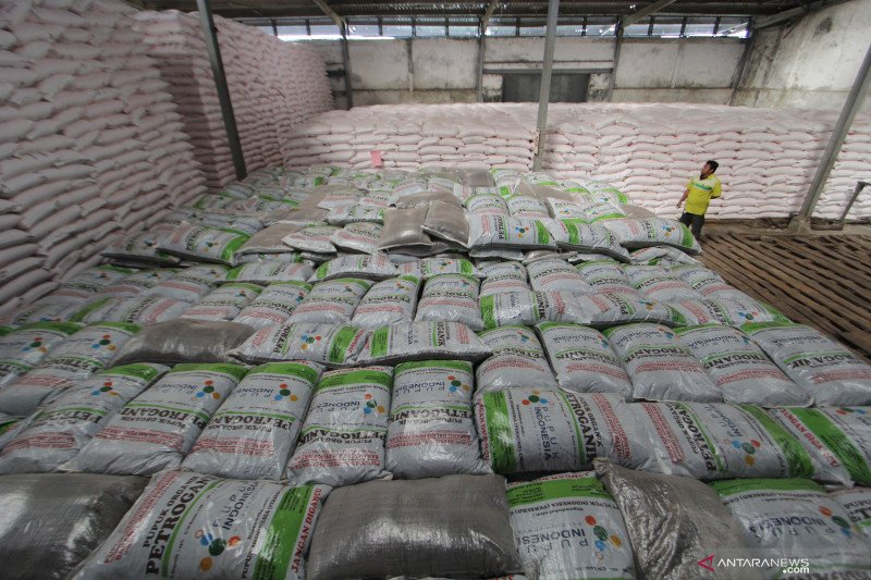 Pupuk Indonesia salurkan pupuk subsidi selama masa transisi kartu tani