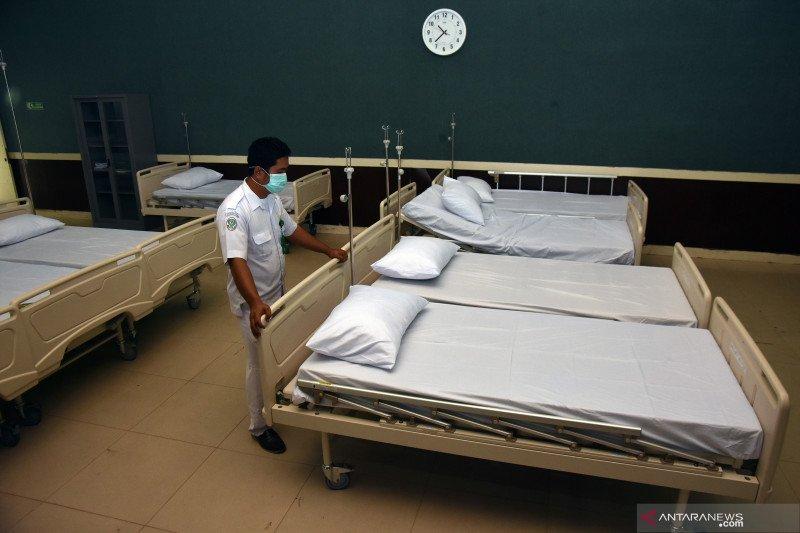 Ruang isolasi RS Riau untuk pasien COVID-19 sisa 30 persen