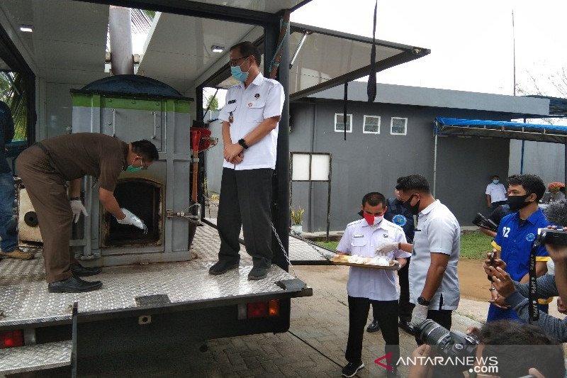 BNN Sultra musnahkan barang bukti 1.002 gram sabu-sabu