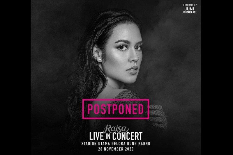 Konser Raisa di GBK bulan November ditunda lagi