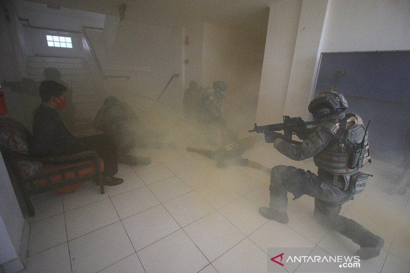 Taifib gelar latihan penanggulangan teror