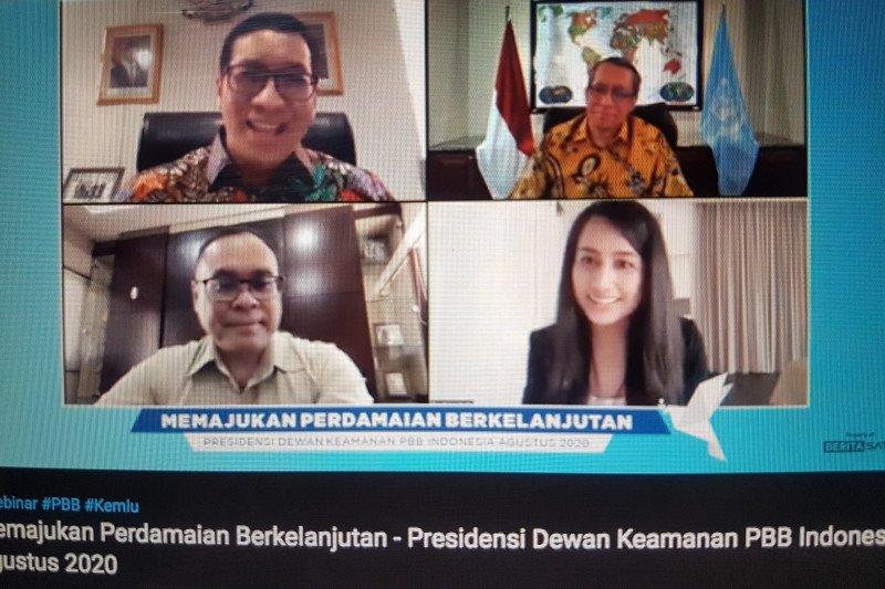 Sulit dihapus, Indonesia usulkan pengaturan penggunaan veto DK PBB