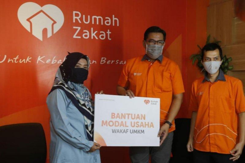 Rumah Zakat targetkan bantu 50.000 UMKM melalui dana wakaf