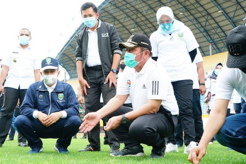 Sumsel kebut perbaikan stadion sebagai respon rekomendasi FIFA