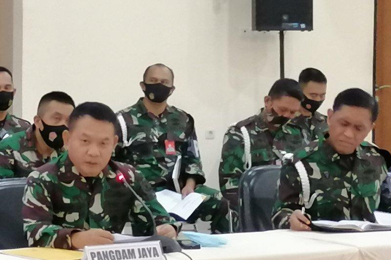 TNI AD talangi Rp596 juta untuk ganti rugi kerusakan Mapolsek Ciracas