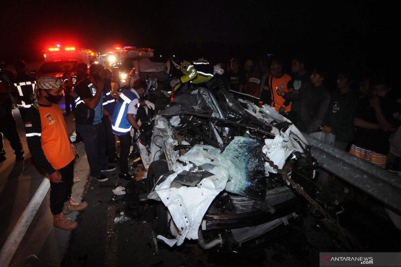 Kecelakaan beruntun di Tol Kartasura-Boyolali