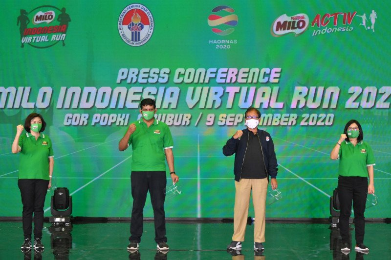 Milo Indonesia Virtual Run targetkan 17.000 peserta