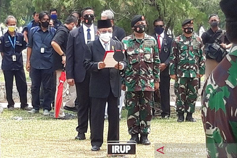 Jusuf Kalla pimpin upacara pemakaman Jakob Oetama