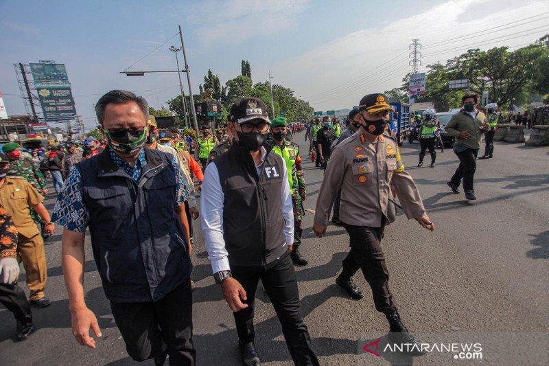 Wali Kota Bima Arya pimpin operasi penegakan disiplin bermasker