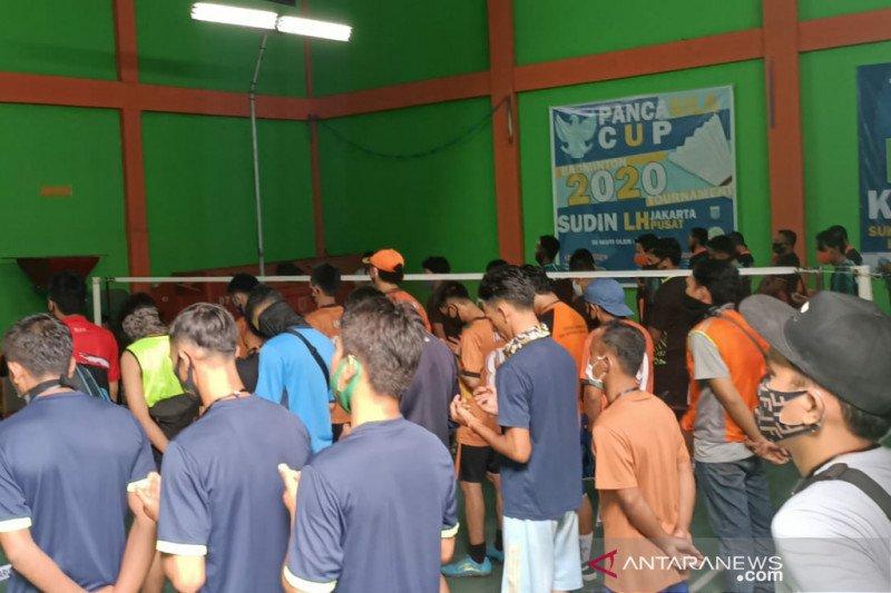 Sudin LH Jakpus gelar turnamen olahraga di tengah pandemi COVID-19