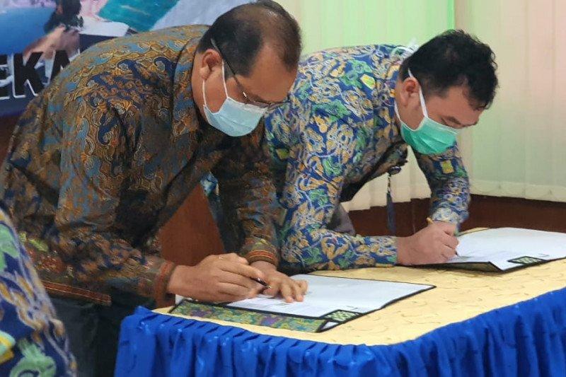 PP bangun Bendungan Way Sekampung Paket 3 Lampung