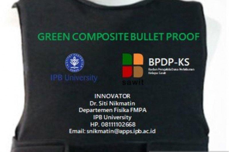 Dosen IPB University ciptakan baju antipeluru dari limbah sawit