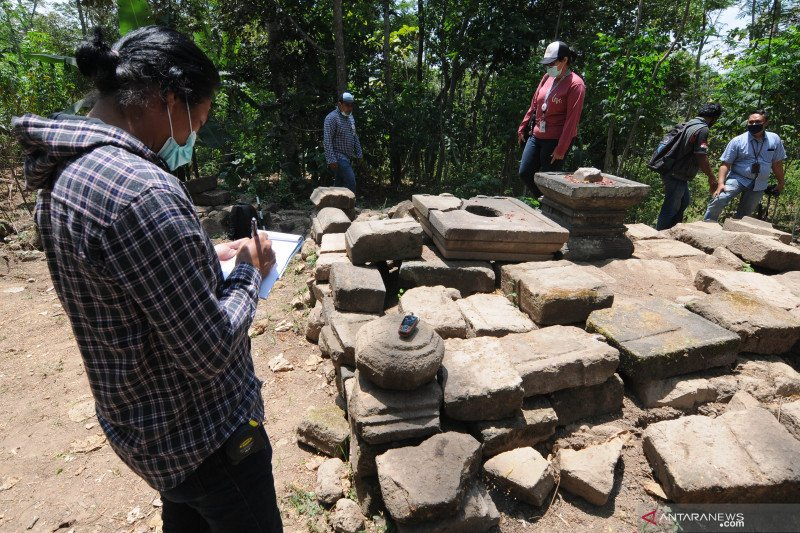 Penelitian arkeologi Candi Tibayan