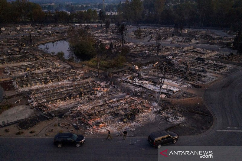 Polisi selidiki unsur kesengajaan dalam kebakaran Oregon