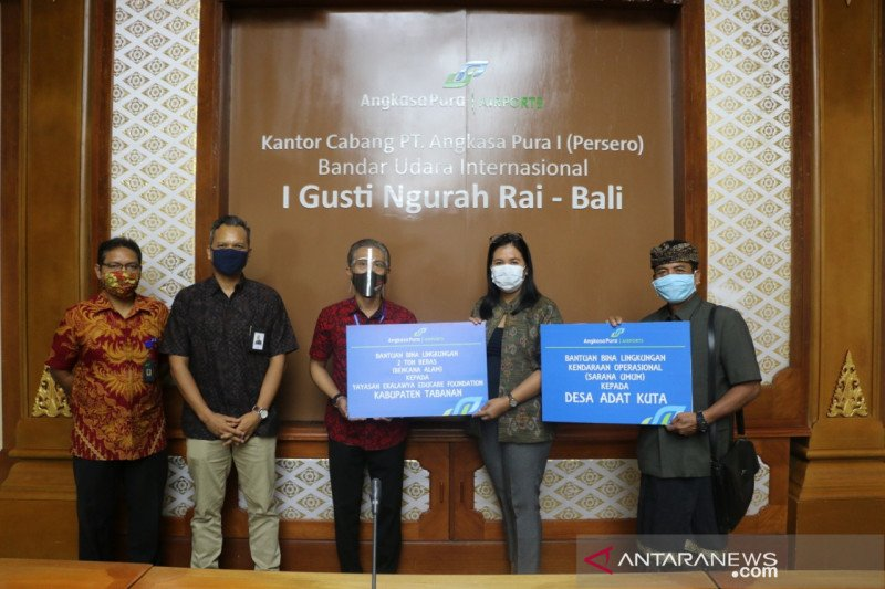 Bandara I Gusti Ngurah Rai salurkan Bantuan Bina Lingkungan