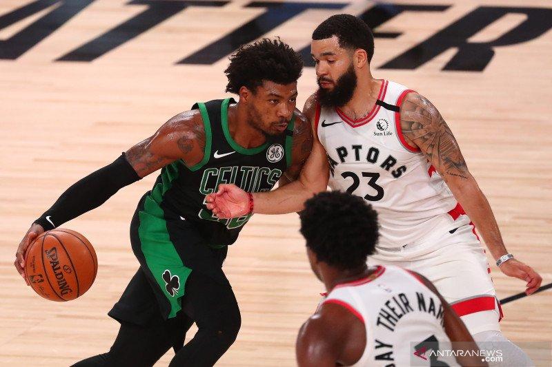 NBA: Boston Celtics  unggul 4-3 setelah kalahkan Toronto Raptors 92 - 87