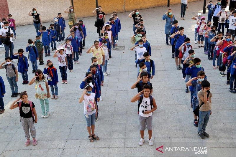 Suriah kembali buka sekolah di tengah pandemi COVID-19