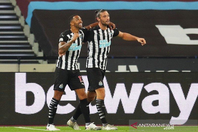 Newcastle menang 2-0 di markas West Ham