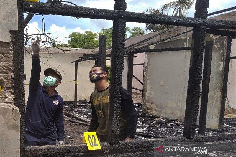 Tim Labfor selidiki penyebab terbakar gedung LPTQ Kalteng