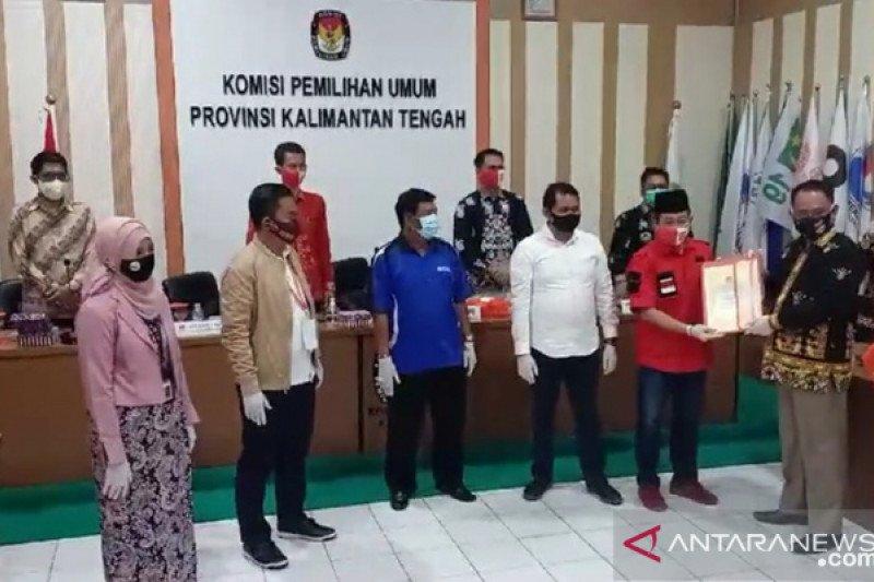 KPU Kalteng nyatakan dokumen syarat pendaftaran petahana lengkap