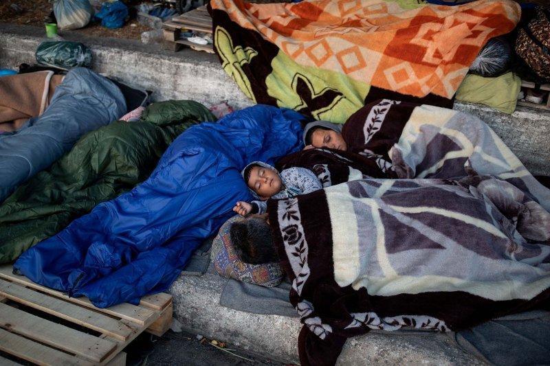 Kepolisian Yunani tangkap 5 orang terkait kebakaran kamp migran Moria
