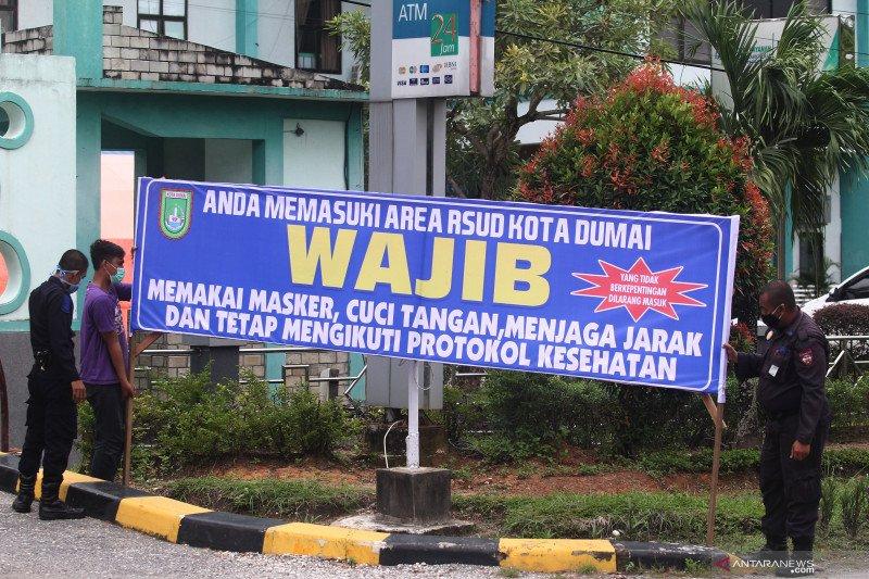 Hasil tes cepat, lima pegawai Rutan Dumai-Riau reaktif COVID-19