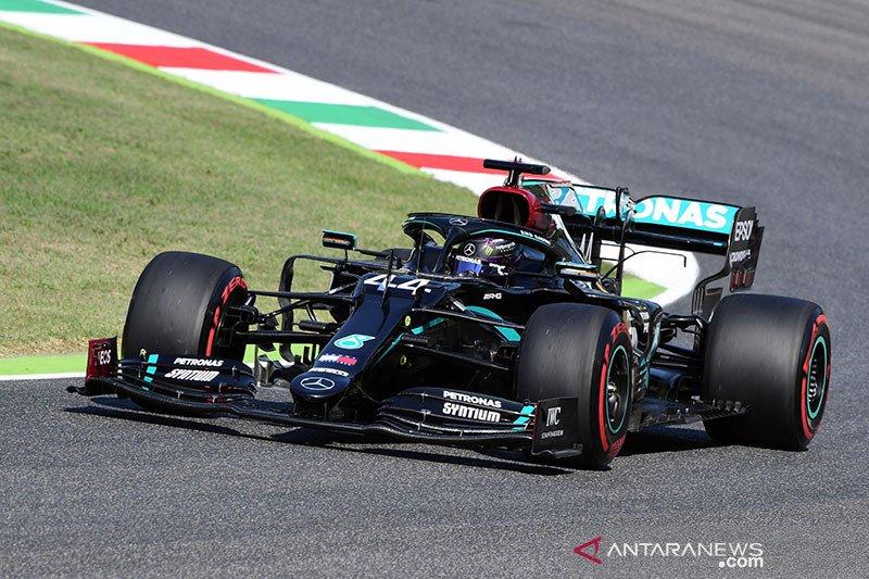 Hamilton kalahkan Bottas untuk rebut pole position GP Tuscan