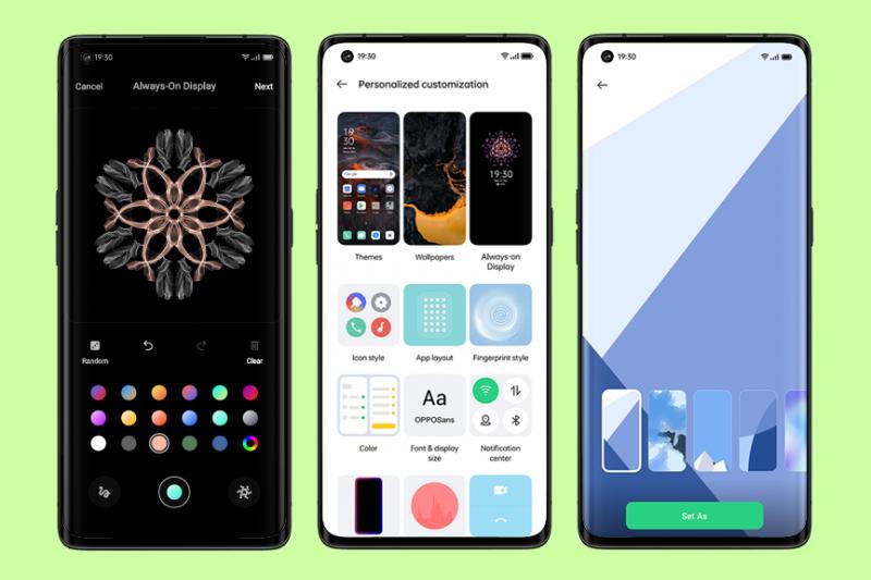 ColorOS 11 akan tersedia secara bertahap pada ponsel OPPO