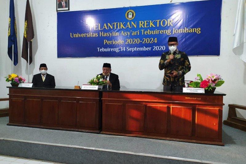 Gantikan Gus Sholah, Haris Supratno Rektor Universitas Hasyim Asy'ari
