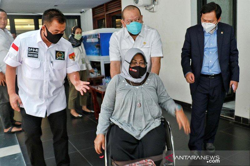 La Nyalla ajak anggota DPD advokasi hak penyandang disabilitas
