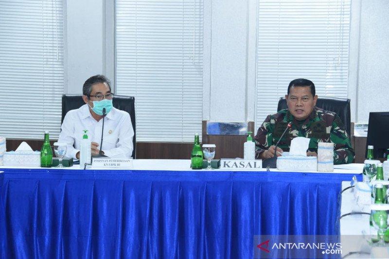 Kasal instruksikan seluruh unit TNI AL menindaklanjuti temuan BPK RI