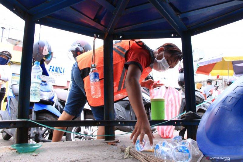 Ratusan warga Palangka Raya terjaring razia protokol kesehatan