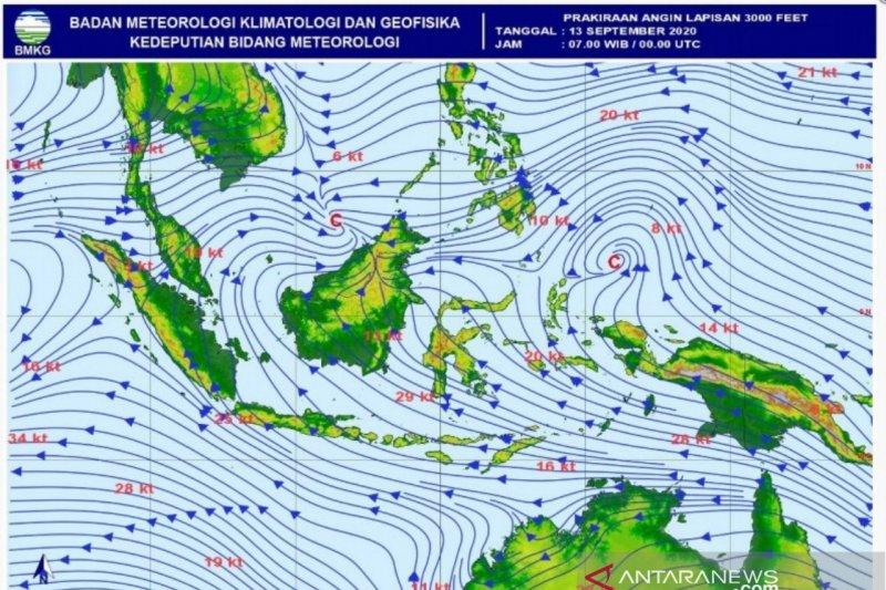 BMKG: Potensi hujan lebat akibat pelambatan massa udara di Aceh