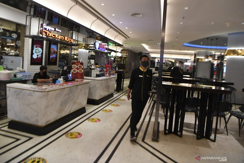 Lima sektor usaha boleh tampung pengunjung sampai 50 persen