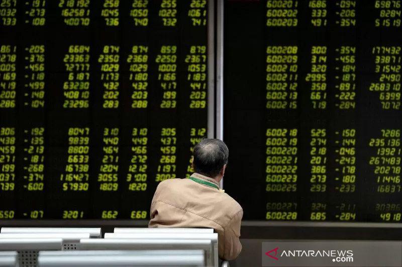Saham China dibuka bervariasi setelah turun sehari sebelumnya