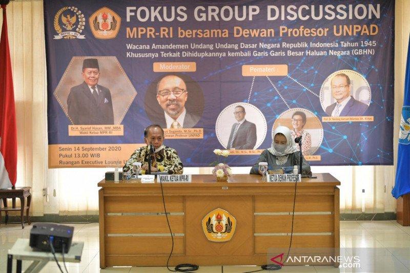 Pimpinan MPR: amandemen UUD perlu kajian mendalam
