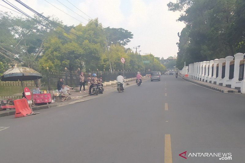 Hari pertama PSBB Jakarta, jalur Puncak-Cianjur sepi