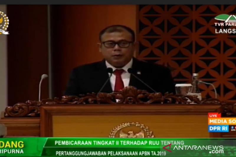 DPR setujui RUU P2APBN 2019 menjadi Undang-Undang